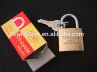 brass imitation lock