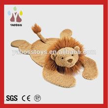 Factory direct Plush Lion Blanket Soft Toys Lion