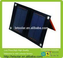 Letsolar 3W Solar pack SP5 Foldable Solar Pack charger plates wholesale rattan