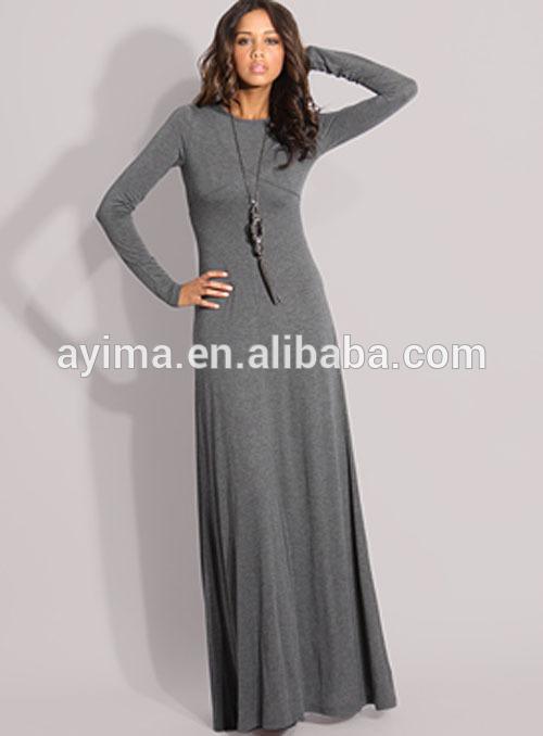 Dress Wholesale Plain Grey