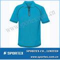 メンズ高品質の高級青ゴルフポロのtシャツ