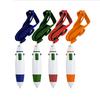 Hot selling custom multi color ballpoint pen for promotion