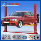 ISO:9001-2008 Certification and One Cylinder Hydraulic Lift Type Electro-Hydraulic Two Post Car Lift