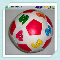 Promotional Gifts Blue White Volleyball Bouncy Squeeze Stress Ball Hand Toys Kids Soft Play Balls Soft Ball Toy Wholesalers