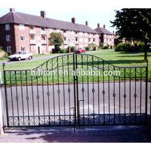decorative metal outdoor patio gates designs