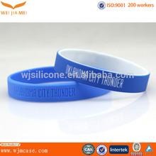 new cheap thin silicone wristband from Shenzhen China