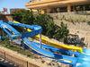 Water fun commercial water slide fiberglass slide