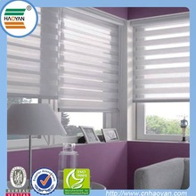 new popular vertical screen window curtain with zebra style
