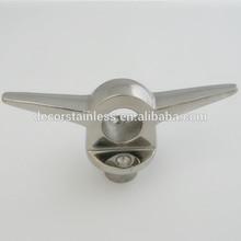 SS316 lifting eye cleat 7''