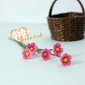 مصغرة الزهور الزهور كلاي اليدوية المقتنيات