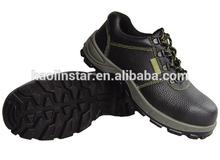 HL-S001 oil and slip resistance men's steel toe cap safety shoes