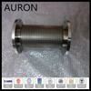 silicon corrugated pipe / sylphon bellows /sleeve with natural color