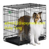 6 Sizes Metal Folding Dog Cage,Foldable Dog Crate,2 Doors Easy To Carry