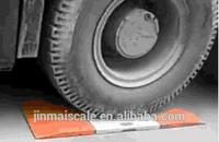 Weight sensor for trucks Portable weigh pads