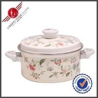 18CM Sandwich Warmer White Enamel Japanese Cast Iron Cookware