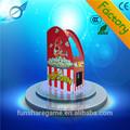 Popcorn machine de jeu billet de loterie d'attractions. jeux de loterie machine simple machine de jeux pour enfants