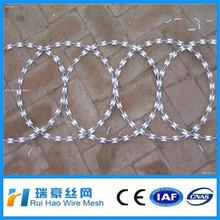 low price concertina razor barbed wire /razor barbed wire mesh fence