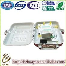 Waterproof Fiber optic distribution box & hdmi to 12 core multi mode fiber optic cable converter splicing kit box