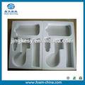 Personalizado de espuma insertar, cajas de claro, productos de plástico caso