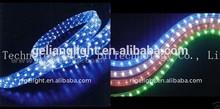 LED flat 2 lines rainbow rope,led holiday light Led decoration lights