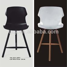 High quality clear plastic coffe desk chair