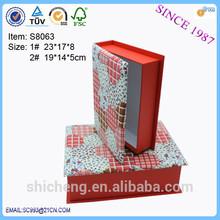 2014 Buch geformt verschiedene Arten schnapsglas gta geschenk verpackung box