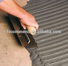 Grey color flexible floor tile adhesive