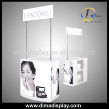cheap plastic table/plastic table top/promotion desk
