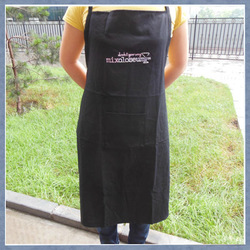 100% cotton aprons with adjustable metal buckle