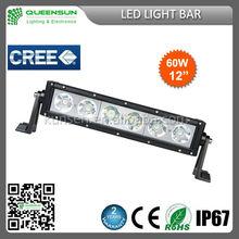 9-32V cree 60w led light bar with spot/flood/combo beam SRLB60-C4