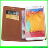 wallet leather case for samsung note 3,mobile phone protective case for note 3 cases
