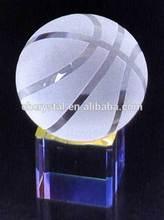 lucky crystal basketball ball MH-Q0390