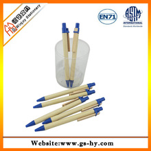 Promotional eco recycled paper pen with cheap price