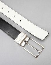 Elegant reversible belt buckle leather belt process manufacturing