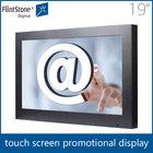 Flintstone 19 inch lcd full hd media player touch screen advertising panel