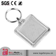 acrylic keychain / acrylic keyring/ blank acrylic keychain for promotional gift