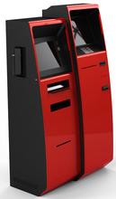 Custom electronic payment machine kiosk