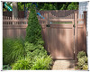 2014hot sale /high quality top picket semi-privacy fence /direct manufacturer /pvc fencing
