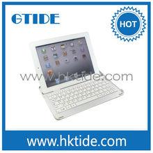 Aluminum bluetooth keyboard cover for iPad
