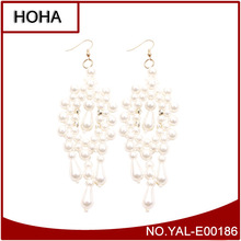 Fashion Imitation Jewellery Earing White Pearl Bollywood Style Earing