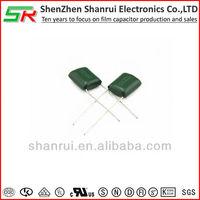 Polyester film capacitor type CL11 /film cap/0.22uf 100v /SR/Mylar capacitors