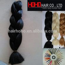 Wholesale price super jumbo expression yyaki hair braid styles