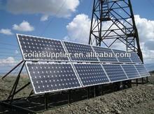 1000w solar power system pile solar ground racking system pv polycrystallion solar energy panels