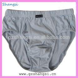Men gender plain white cotton mens underwear boxer briefs