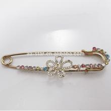 2014 new style jewelry my style jewelry rhinestone flower brooch