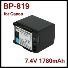 For Canon Camcorder Battery Pack BP-819