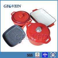 Enamel Coating Cast Iron Sonex Cookware Set