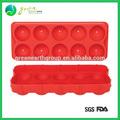 2014 venta caliente de moda de silicona personalizadas de cumpleaños mini-balón pasteldemolde