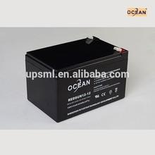 MSDS 12v 12ah exide ups battery for solar