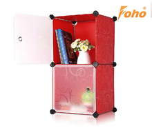 Customized shape modern plastic display cabinet for small goods FH-AL007-2